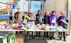 Baltanás inicia una campaña solidaria de recogida de alimentos