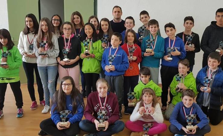 Béjar acogió el Campeonato de Edades de Ajedrez de Castilla y León 2018