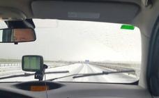 Nieve y granizo en Palencia