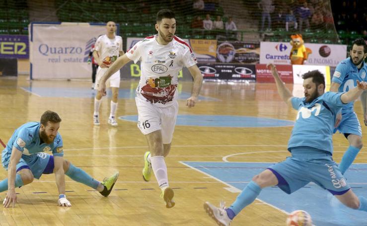 Justo empate entre Naturpelllet-Segovia e Inter Movistar 5-5