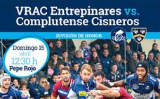 Sorteamos entradas para el partido de rugby entre el Vrac Entrepinares vs. Complutense Cisneros