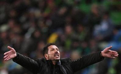 Simeone: «Lo pasamos mal pero nos llevamos una gran alegría»