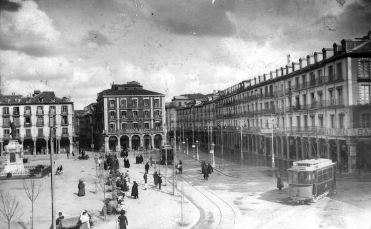 Los cambios de la Plaza Mayor de Valladolid a través de los años