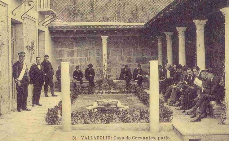 La Casa de Cervantes, un regalo de Alfonso XIII a la ciudad de Valladolid