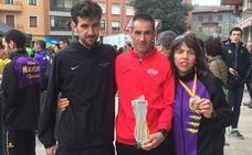 Dani Sanz, 11º en el Nacional de ruta de 10 km y bronce M-35, e Isabel Almaraz, campeona de España M-45