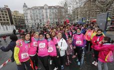 Participantes en la II Carrera y Marcha de la Mujer de Valladolid (2/4)