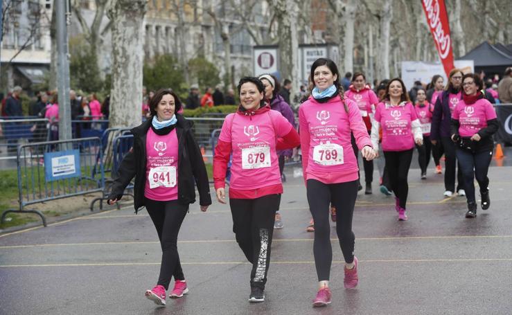 Participantes en la II Carrera y Marcha de la Mujer de Valladolid (3/5)