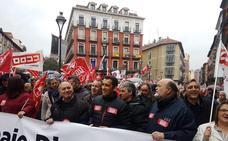 Centenares de personas claman en Valladolid por la viabilidad de un sistema digno de pensiones