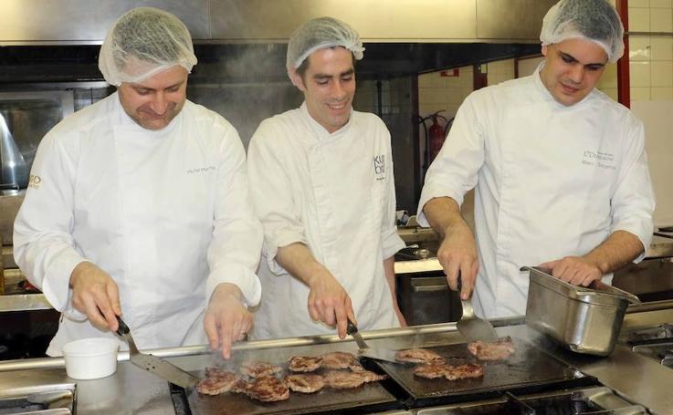 Los pacientes del Clínico de Valladolid disfrutan de un menú cocinado por estrellas Michelin