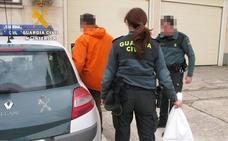 Detenido por robar cuatro veces en una vivienda de Venta de Baños