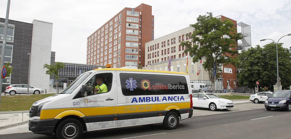 Rescatan a un ciclista herido en una zona de difícil acceso en el Camino Viejo de Magaz