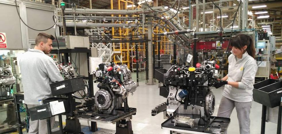 La plantilla de Renault completa el cobro de una extra en abril por crecer en productividad