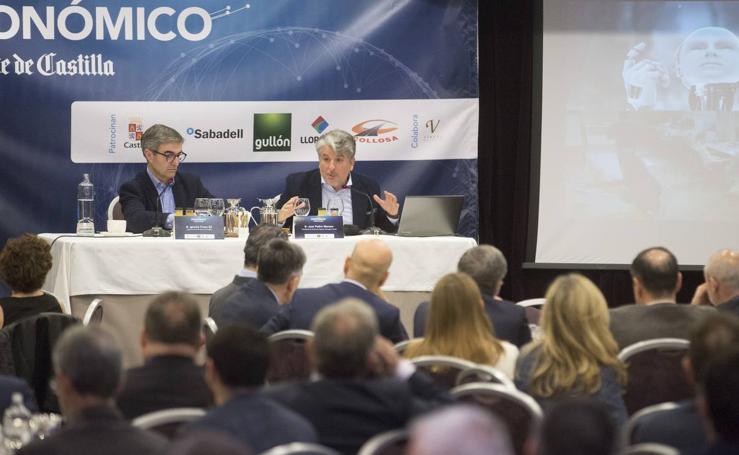 Juan Pedro Moreno, en el Foro Económico de El Norte de Castilla