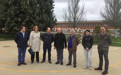 Frómista construirá un pabellón multiusos junto al colegio Pablo Sáenz
