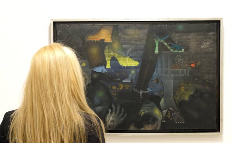 Exposición 'Tàpies. De Dau al set al grupo El Paso' en el Museo Patio Herreriano de Valladolid