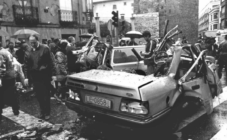 Los 'golpes' de ETA en Castilla y León