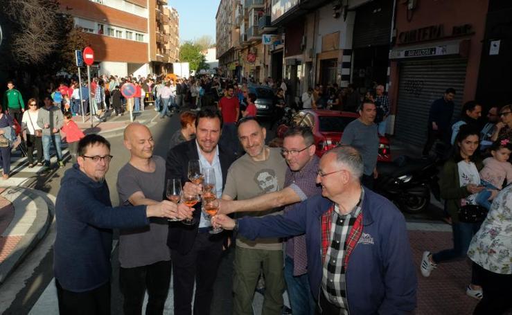 Inauguración calle Celtas Cortos