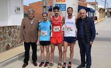Dani Sanz e Isabel Almaraz ganan la II Carrera Popular Lenteja de la Armuña en Tardáguila
