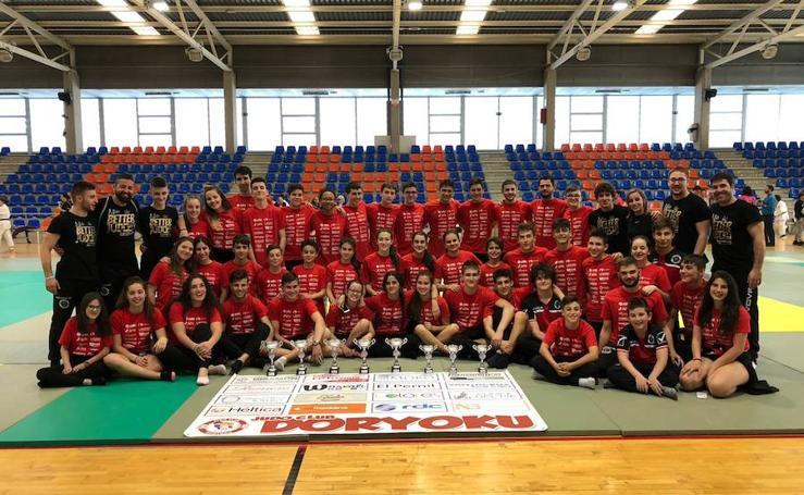Los judokas salmantinos brillan en el Campeonato Regional de las categorías infantil y cadete