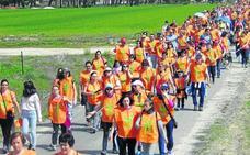 La Comunidad de San Benito de Gallegos reúne a 420 caminantes en su marcha solidaria