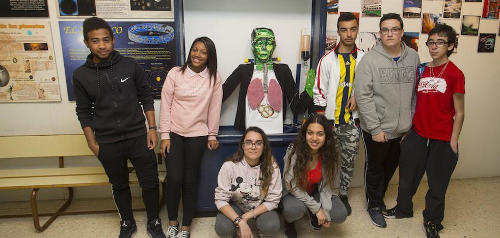 Así se usa 'Frankenstein' para enseñar el temario en el instituto Leopoldo Cano