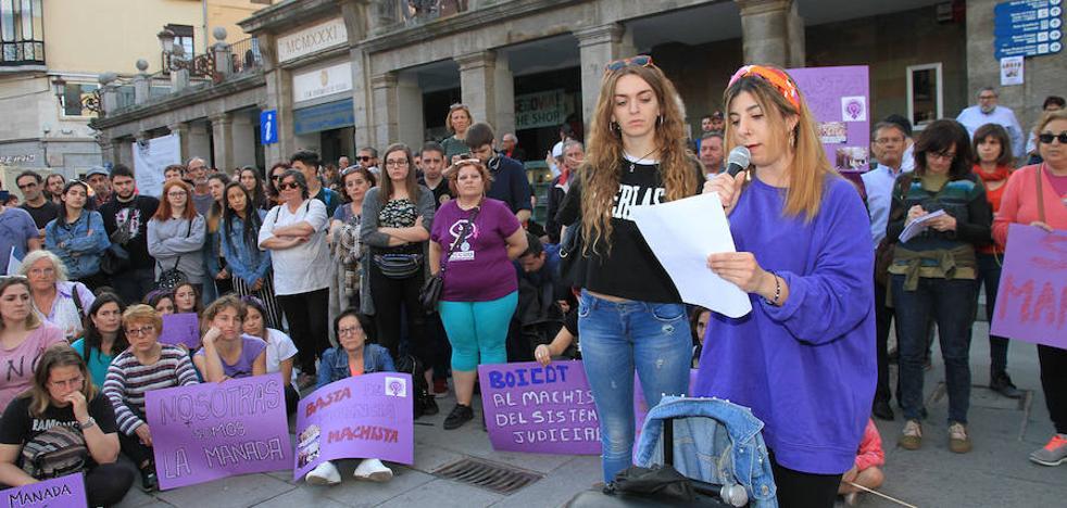 Indignación en Segovia por la sentencia de La Manada