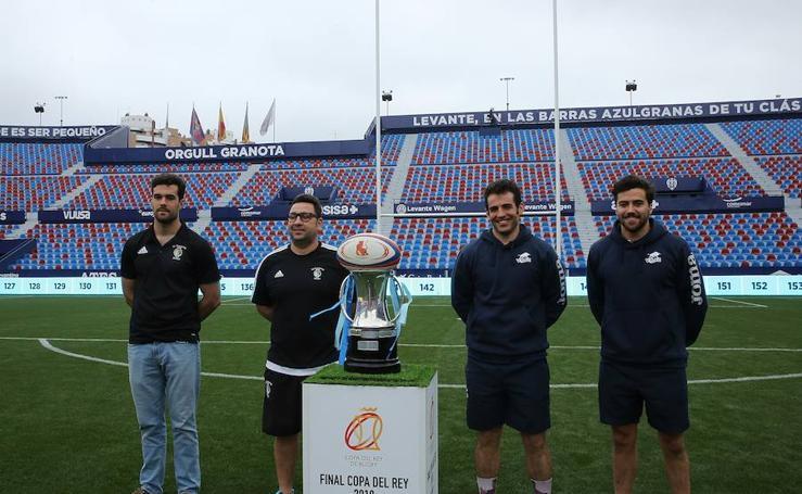 Preparativos en Valencia para la Copa del Rey de rugby