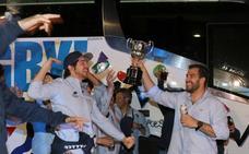 Los queseros reciben la Copa en su sede