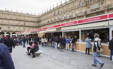 La Plaza Mayor volverá llenarse de libros el próximo sábado