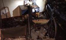 Muere un anciano de 88 años en el incendio de su casa en Madrid