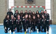 El Ciudad de Salamanca cadete femenino acaba tercero el Regional