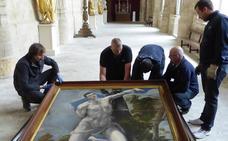 'San Sebastián', de El Greco, viaja de la catedral de Palencia a Aguilar