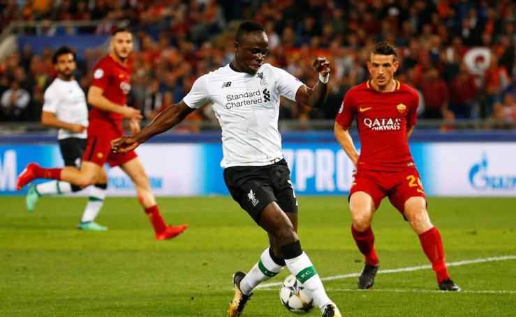 Festival de goles en el Roma 4-2 Liverpool