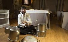 Óscar García exhibe su cocina 'estilo de vida mediterráneo'