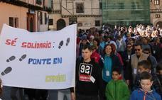 La falta de savia joven pone en peligro la caminata solidaria de San Lorenzo