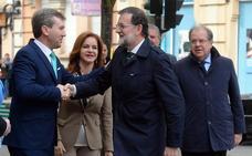 Rajoy confirma que las obras del AVE entre Venta de Baños y Burgos finalizarán a finales de año