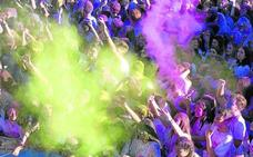 La capital se llenará de color el día 27 con la carrera Holi Life en la zona de la Lanera
