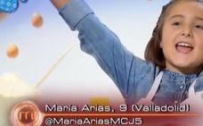 María Arias, de 'MasterChef' Junior a 'MadreChef'