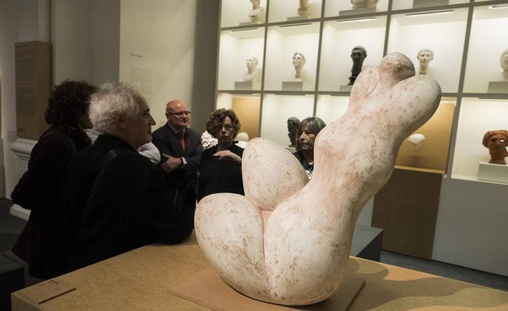 Exposición 'Baltasar Lobo, un moderno entre los antiguos' en la Casa del Sol de Valladolid