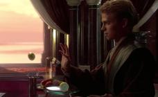 El menú en una galaxia muy, muy lejana...