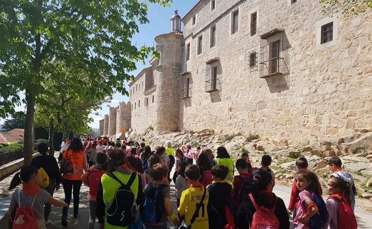 Cerca de medio millar de niños han ganado el jubileo en Ávila este fin de semana
