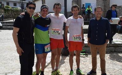 Los hermanos Heras dan lustre a la II Carrera de Media Montaña Arrebatacapas de Candelario