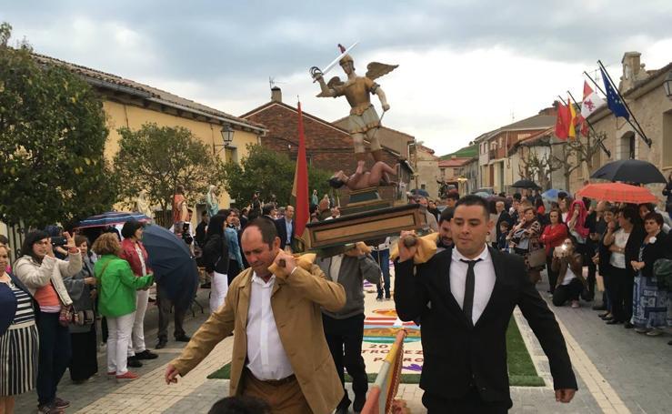Castrodeza honra a San Miguel