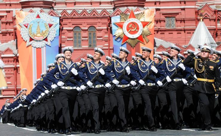 Desfile del Día de la Victoria en Moscú