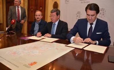 La Diputación y la Junta desarrollarán las normas urbanísticas de 187 municipios