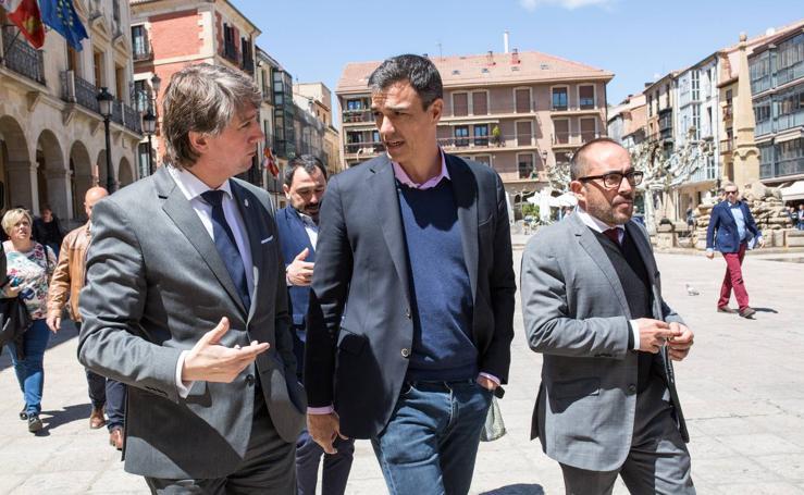 Pedro Sánchez visita Soria