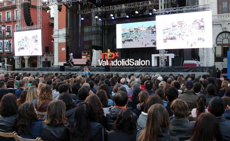 TEDx se celebra en la Plaza Mayor de Valladolid