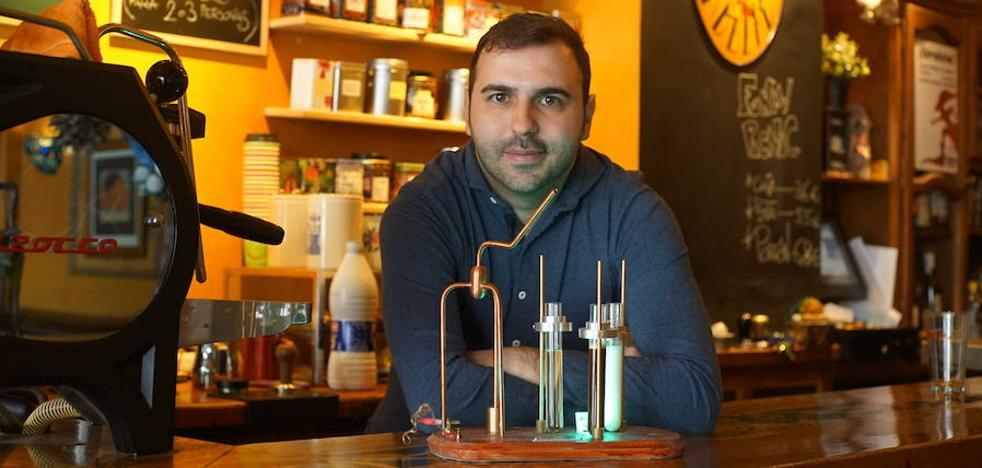Un vallisoletano, tercer mejor barista de España