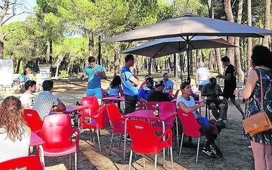 Viana recupera el área recreativa Peñalta para el ocio