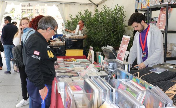 Feria del Disco en Valladolid